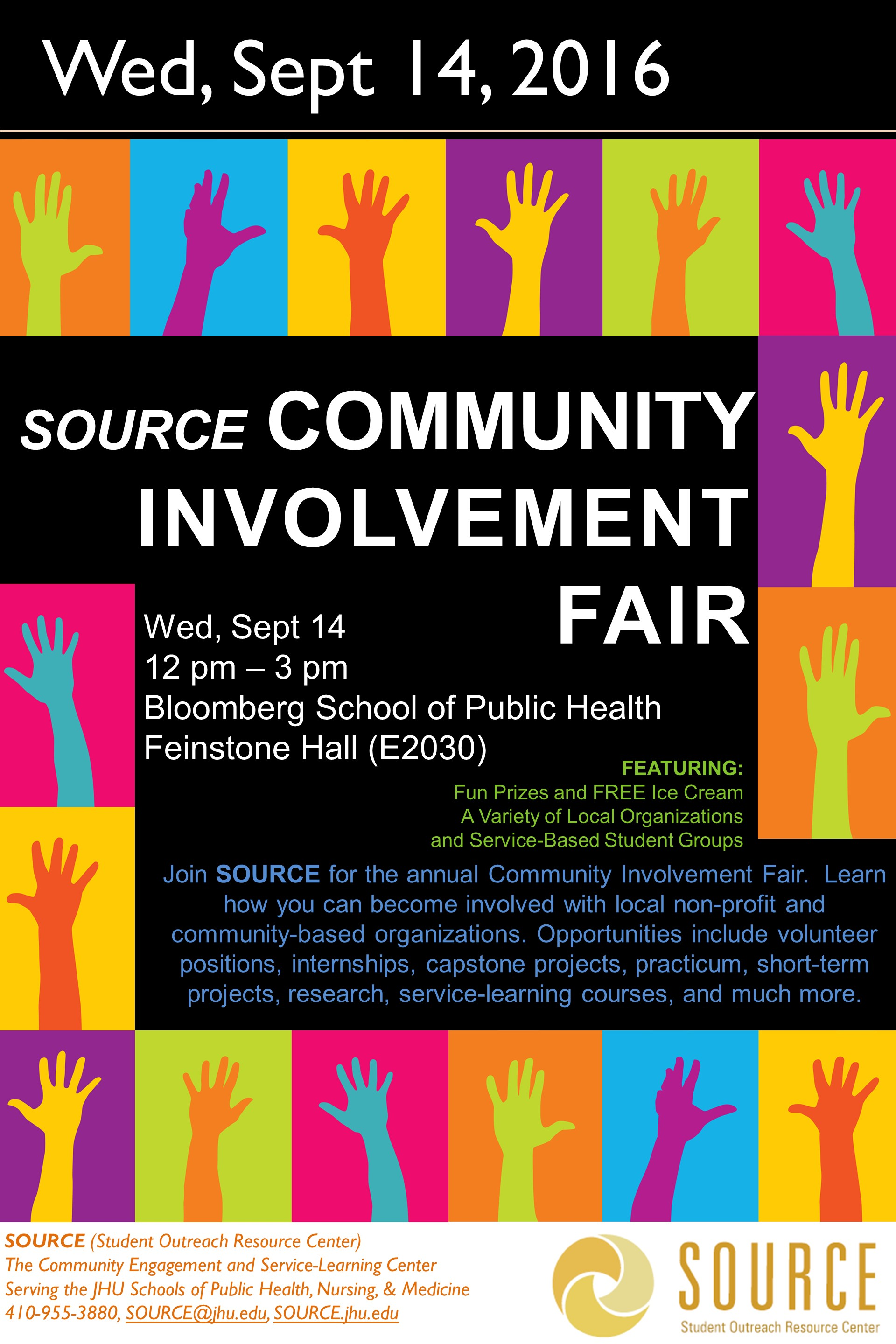 Community Involvement Fair